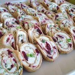 Sweet & Savory Pinwheels - perfect for a party! (from InspiredRD.com)