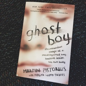Just finished this book. What an incredible story! #GhostBoy