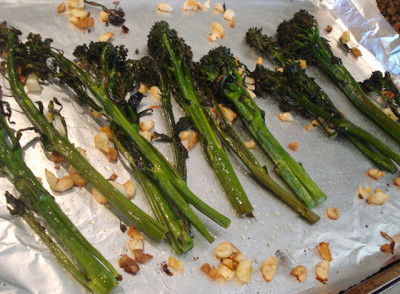 How to roast broccolette