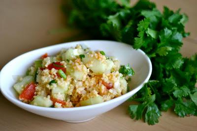Millet Tabbouleh – A Cool Summer Salad