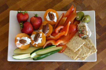 Snack Plate Lunch Idea