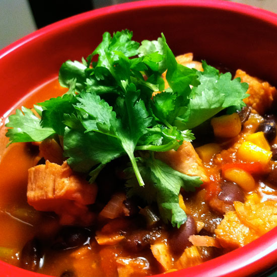 Southwestern Turkey Soup Recipe