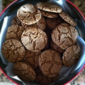 christmas is another story gluten free gingersnap cookies