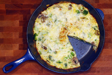 Easy Veggie Frittata Recipe