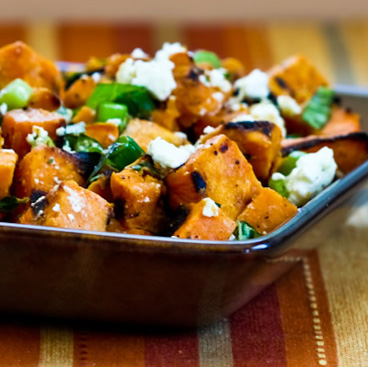 Grilled Sweet Potato Salad from Kalyn's Kitchen