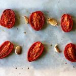 Slow Roasted Roma Tomatoes