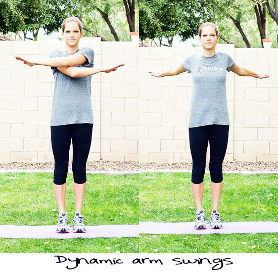 dynamic arm swing