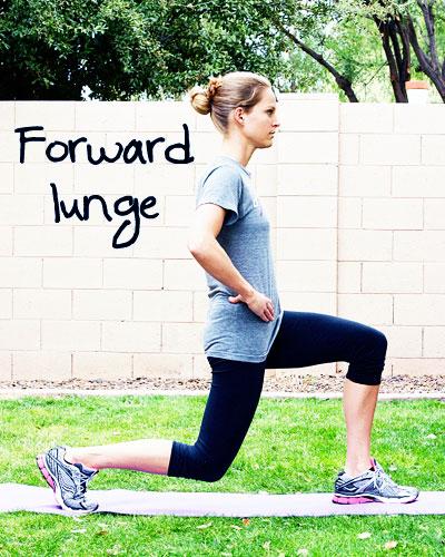forward lunge