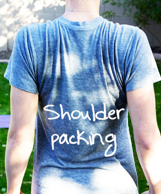 shoulder packing exercise
