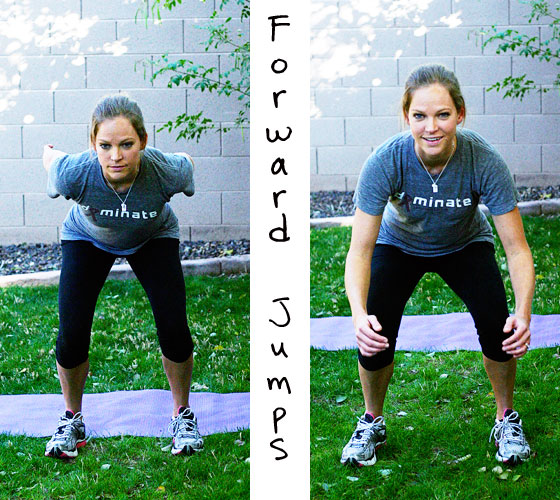 forward jumps