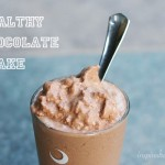 Healthy Chocolate Shake from InspiredRD.com #glutenfree #dairyfree