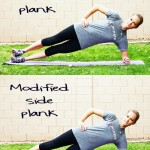side plank progression