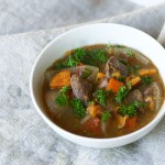 Slow Cooker Bison Stew from InspiredRD.com
