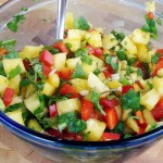 Pineapple Salsa from InspiredRD.com