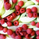 gluten free raspberry apple crisp