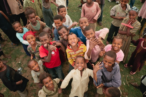 kids in Ethiopia - Food for the Hungry