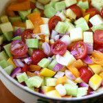 Simple Marinated Veggie Salad Recipe
