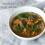 Slow Cooker Bison Stew from www.Inspiredrd.com