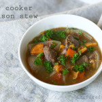 Slow Cooker Bison Stew (Gluten-Free)