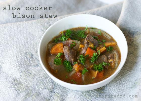 Slow Cooker Bison Stew (Gluten-Free)