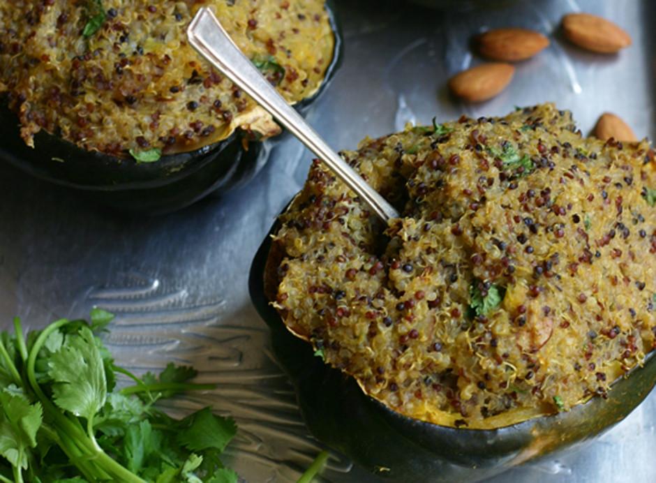 Stuffed Acorn Squash Recipe (Gluten-Free)