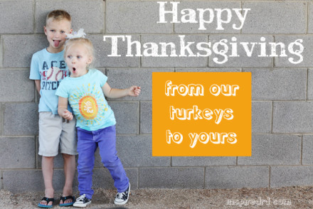 Happy Thanksgiving from InspiredRD.com