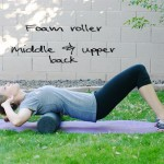 Inspired RD Exercise Library: Foam Roller - Middle & Upper Back
