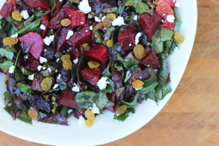 Beet Salad with Tangerine Vinaigrette from InspiredRD.com