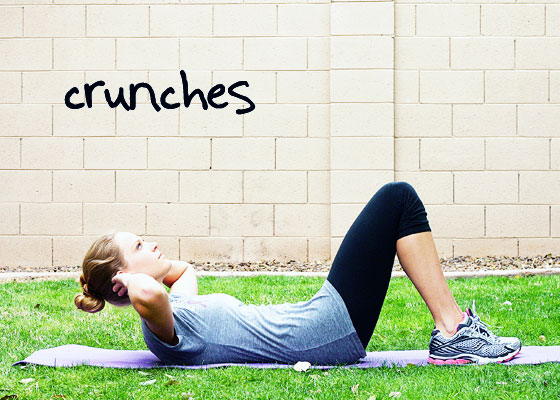 Inspired RD Exercise Library: Crunches
