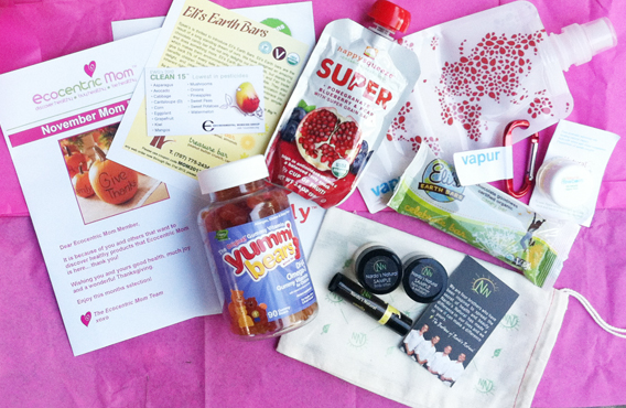 November Ecocentric Mom Box Review