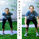 Inspired RD Exercise Library: Forward Jumps