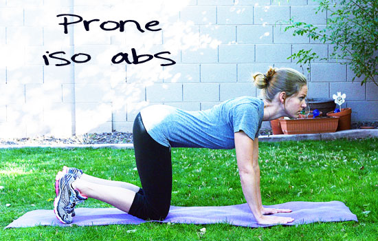 Inspired RD Exercise Library: Prone Iso Abs