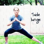 Inspired RD Exercise Library: Side Lunge