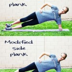 Inspired RD Exercise Library: Side Plank with Modification