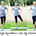 Inspired RD Exercise Library: Single Leg Balance with Leg Extension