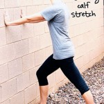 Inspired RD Exercise Library: Standing Calf Stretch