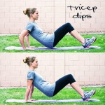Inspired RD Exercise Library: Tricep Dips