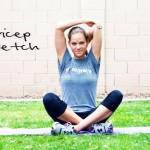 Inspired RD Exercise Library: Triceps Stretch