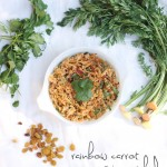 Rainbow Carrot Quinoa Salad via InspiredRD.com