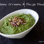 Beet Greens & Pecan Pesto via InspiredRD.com