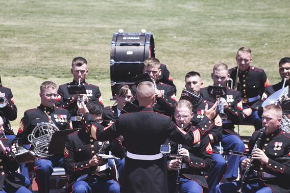 Marine Band San Diego at Higley High School