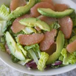 Avocado and Grapefruit Salad by InspiredRD.com