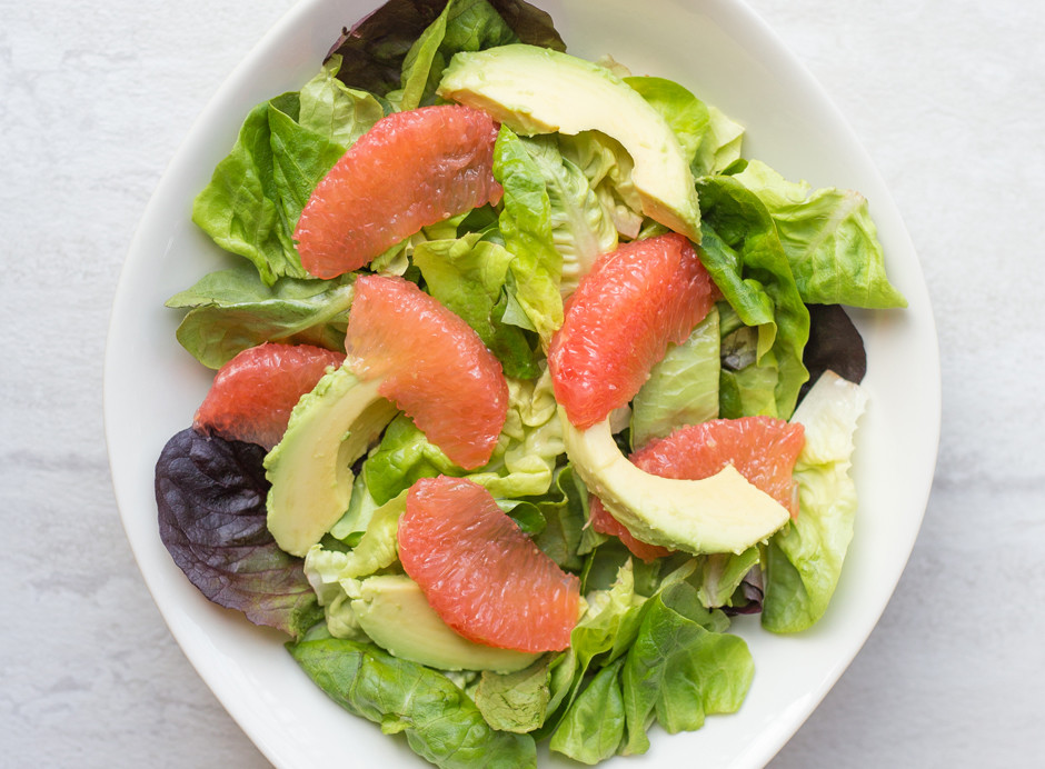 I love this recipe for Avocado Grapefruit salad. So fresh and simple!