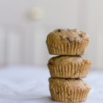 Gluten-Free Chocolate Chip Zucchini Muffins via InspiredRD.com #glutenfree