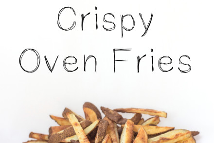 How to get your oven fries perfectly crispy (inspiredrd.com)