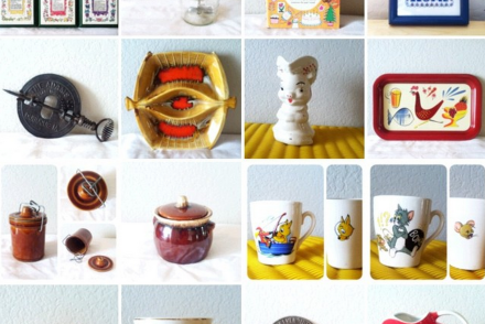 Inspired Vintage Instagram Shop
