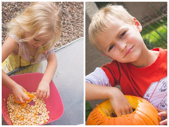 Apple Pie Spiced Pumpkin Seeds