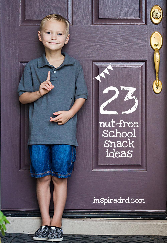 23 Nut-Free School Snack Ideas