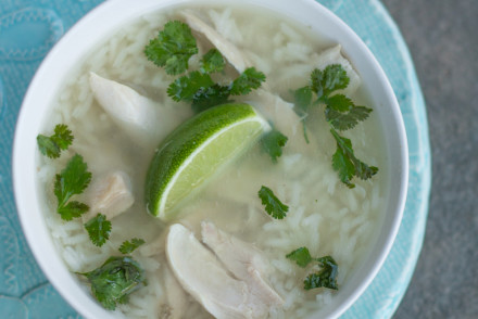 Mexican Chicken Soup #glutenfree