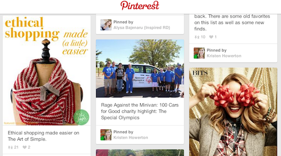 Companies with a Conscience Pinterest Board - Fair Trade Ethical Shopping